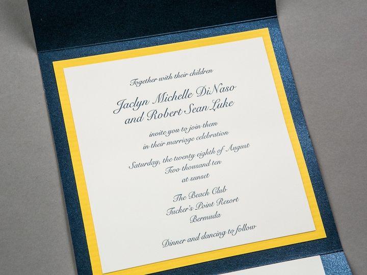 Tmx 1392841132777 Invite B1 Wayzata wedding invitation