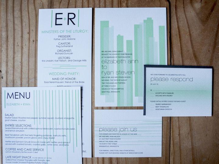 Tmx 1392841141011 Styling E Wayzata wedding invitation