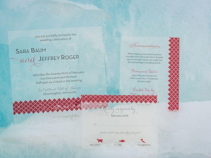 Tmx 1392841145956 Styling E Wayzata wedding invitation