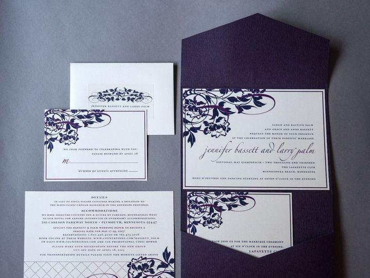 Tmx 1392841149812 Styling E1 Wayzata wedding invitation