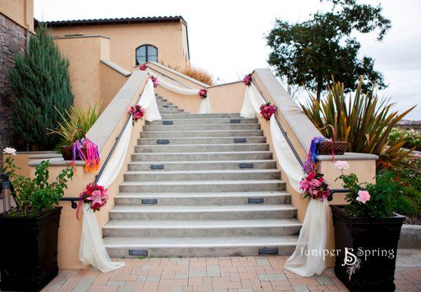 The wedding stairs