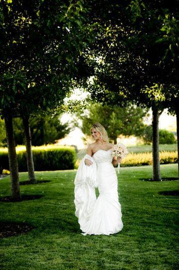 BridewithTreesAugust