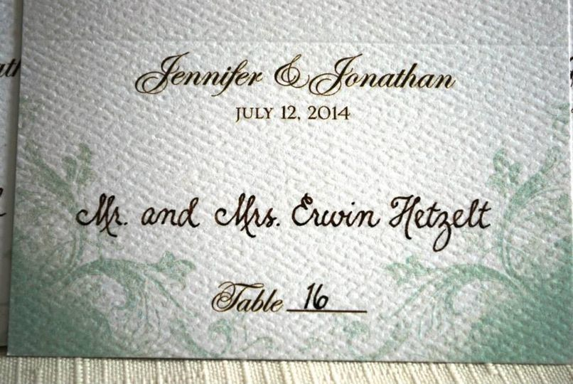 Courtney calligraphy wedding invitations new york