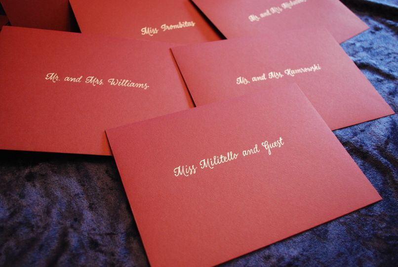 Red and gold envelopes