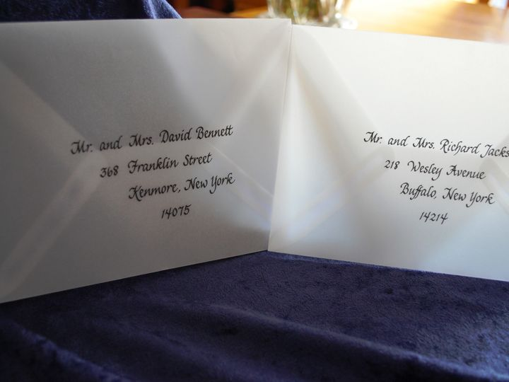 Tmx 1465763076747 Berardi Envelopes 20 Lancaster, NY wedding invitation