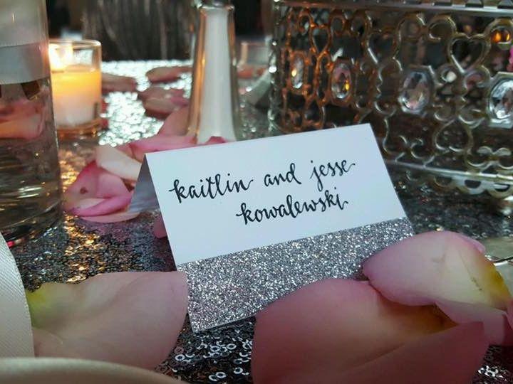 Tmx 1478009162213 Kaitlin And Jesses Seating Card At The Wedding Lancaster, NY wedding invitation