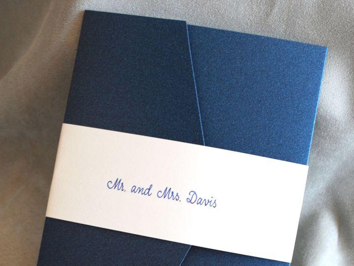 Tmx 1528748335 6873365455637e8d 1528748333 18679ae0ab19f930 1528748330989 2 E And B 13 Lancaster, NY wedding invitation