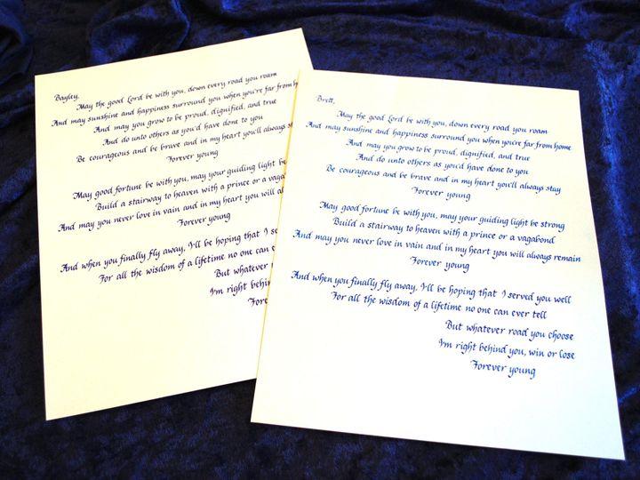 Tmx 1528748911 61b1def5b82f1933 1528748909 2ab061c1142377a7 1528748906695 10 Forever Young Rev Lancaster, NY wedding invitation