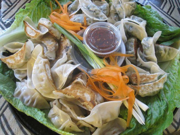 Sichuan style noodles platter