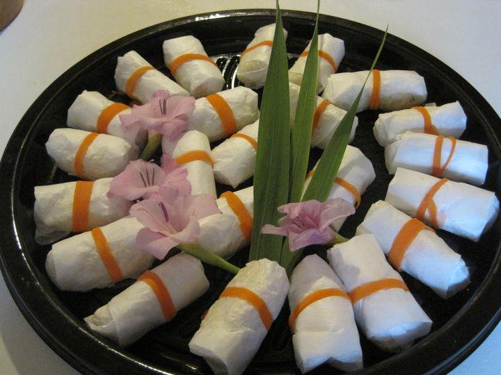 Tmx 1467954510365 Ricewrap Platter Brattleboro wedding catering
