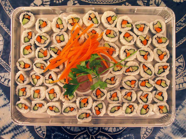 Tmx 1467974883551 Vegan Sushi Platter Brattleboro wedding catering