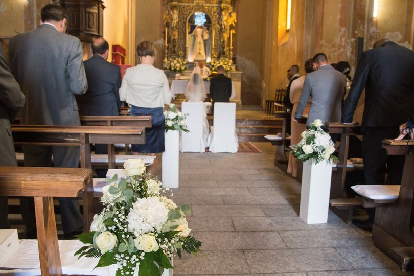 Martina Events & Wedding - church ceremony