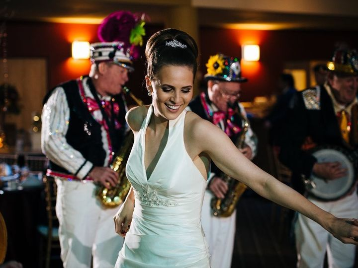 Tmx 1385058360645 Bride With Mummers 1024x68 Philadelphia, PA wedding catering