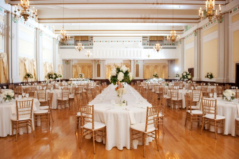 The Grand Ballroom is the larger of our two Ballrooms at The Henry Clay. You may host up to 450...