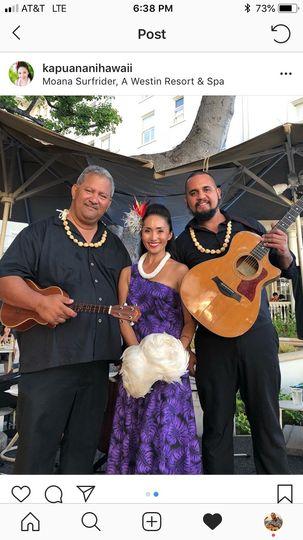 Musicians & Hula