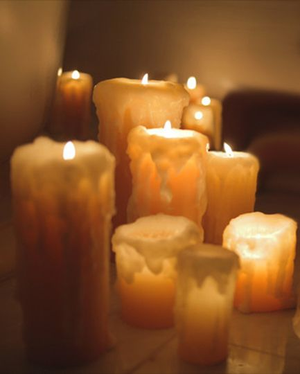 Add romance and elegance to your wedding, shower or any reception with pre-dripped candles.  Their...