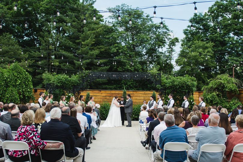 Wedding ceremony - photo by stephanie west