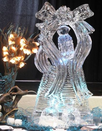 Ice Sculptures- so worth it