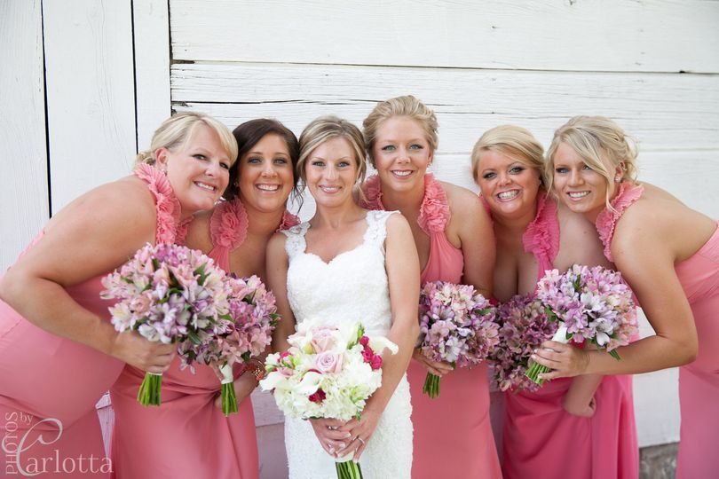 Bridal Party at The Wellwood