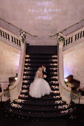 Ceremony staircase