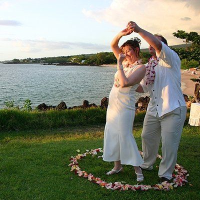 "We don't call ourselves ""Merry"" Maui Weddings for nothing! We offer the most festive weddings, the..."