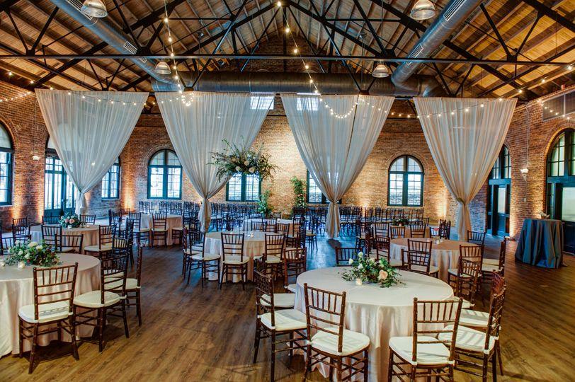 Rustic and refined reception venue