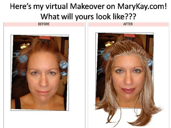 Try the virtual makeover on my website- it's so much fun!!