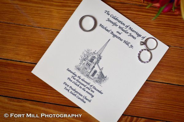 We help our brides with concepts for their stationery needs as well.