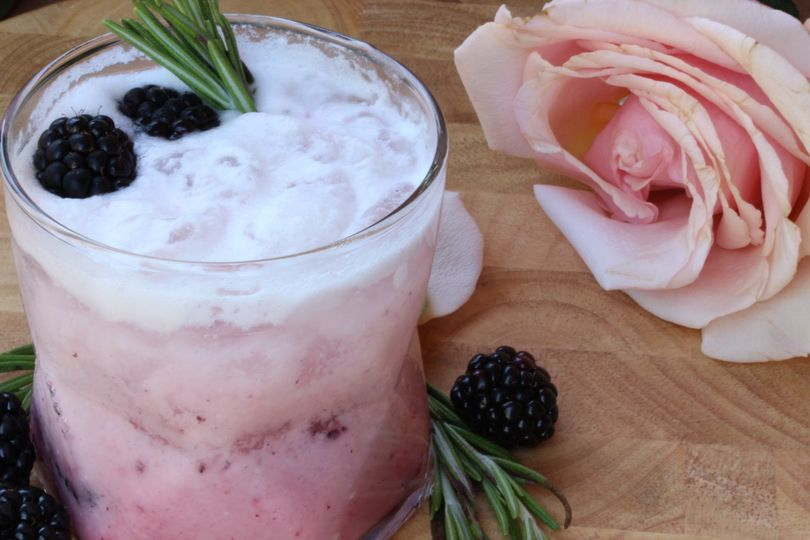 Coconut Rosewater Blackberry