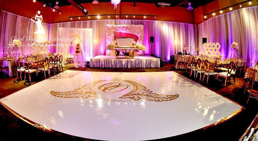 Beautiful dance floor
