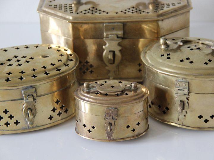 Tmx 1510079069250 Gold Trinket Boxes Astoria, NY wedding rental
