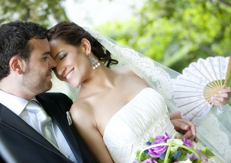 bigstock groom kissing bride on their w 28931714 2
