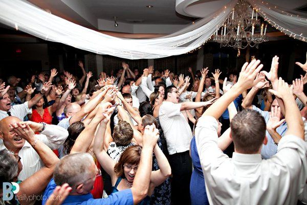 DanceFloor At Mohawk River Country Club - PACKED!  Photo Credit: Bailly Photography!