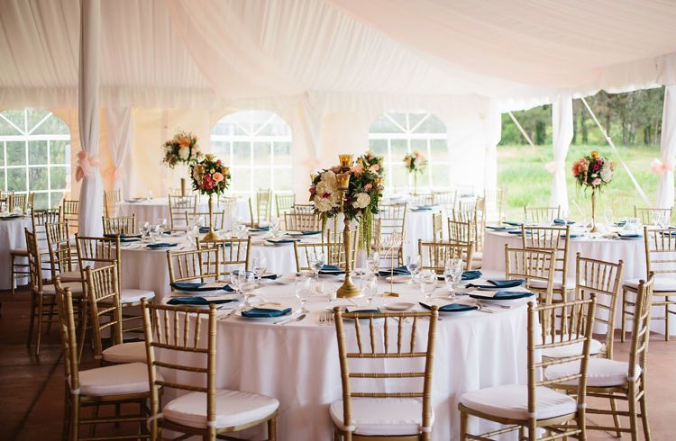 Tables, Chairs, Linens at Hawkshead in South Haven, MI