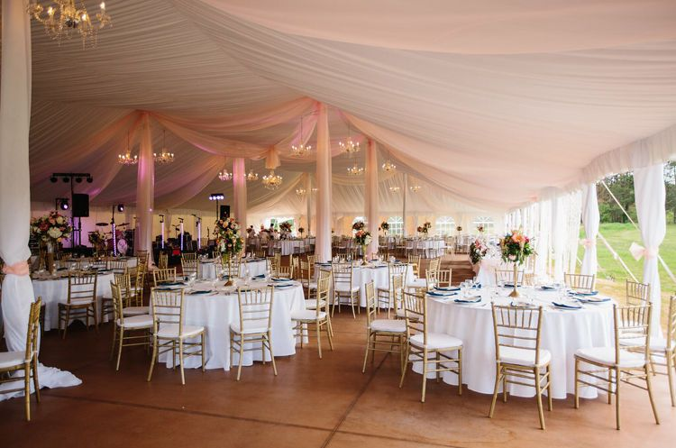 Draping, Tables, Chairs at Hawkshead in South Haven, MI
