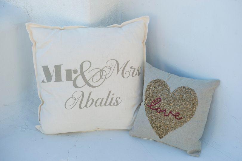 Wedding decor pillows