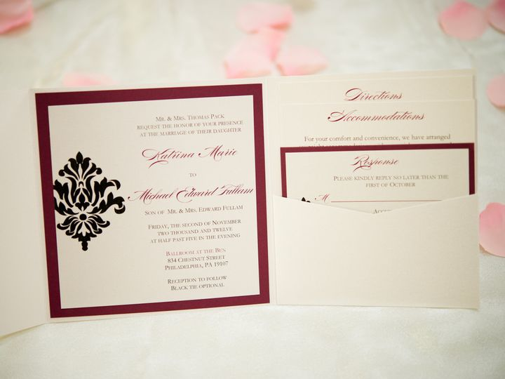 Tmx 1379453544709 D3s1964 Levittown wedding invitation