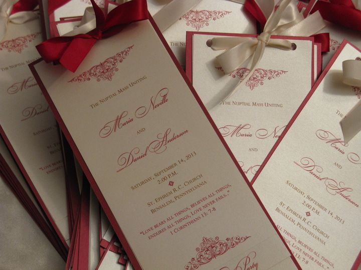 Tmx 1379456937127 Img0096 Levittown wedding invitation