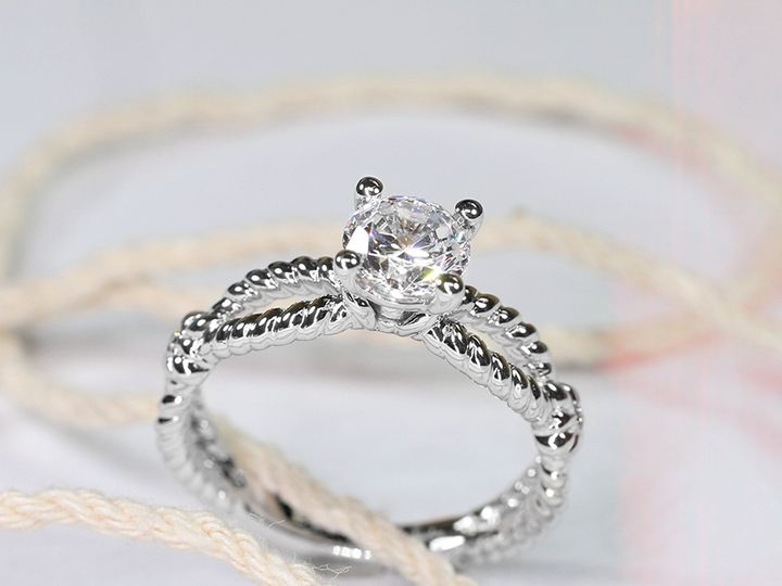Tmx 1470689557189 Rope Ring Copy Middleton, WI wedding jewelry