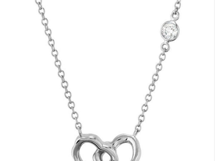 Tmx 1390187376125 Hearts On Fire Necklace Lorelei White Gol San Luis Obispo wedding jewelry
