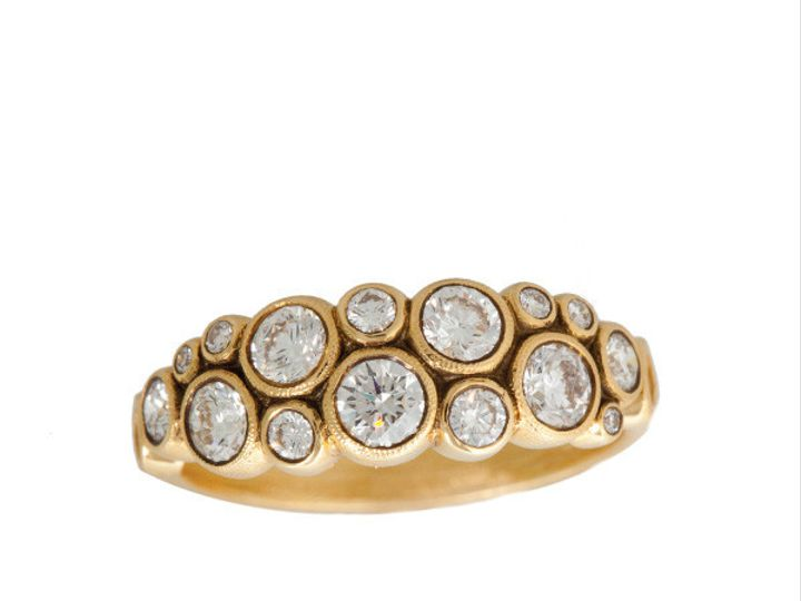 Tmx 1390188236539 Alex Sepkus Ring Yellow Gold Melee Design R 113d00 San Luis Obispo wedding jewelry