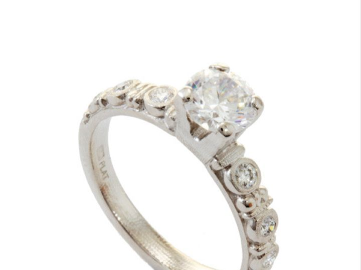 Tmx 1390188246087 Alex Sepkus Ring Circle Solitaire R 166pm 001 100  San Luis Obispo wedding jewelry