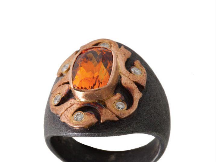Tmx 1390188803080 Alishan Rings Oval Spessartite Garnet R85ss 3 001  San Luis Obispo wedding jewelry