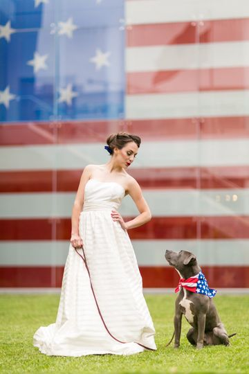 Flag Museum wedding
