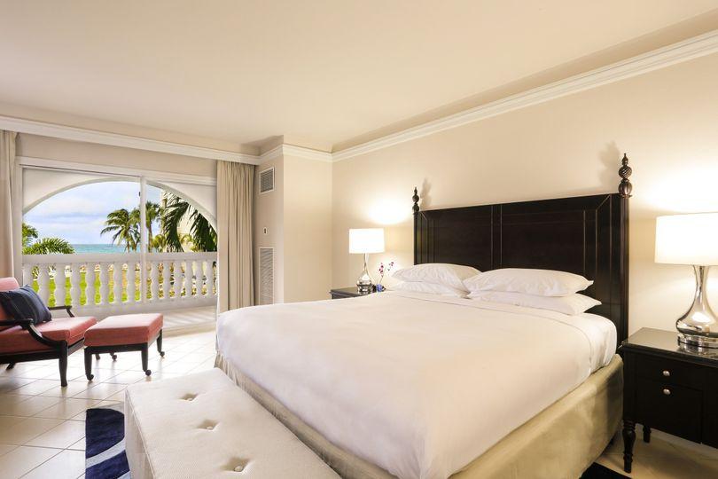 bedroom butler ocean view suite