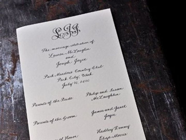 Tmx 1293859360508 DSC7095a427x640 McHenry, Illinois wedding invitation