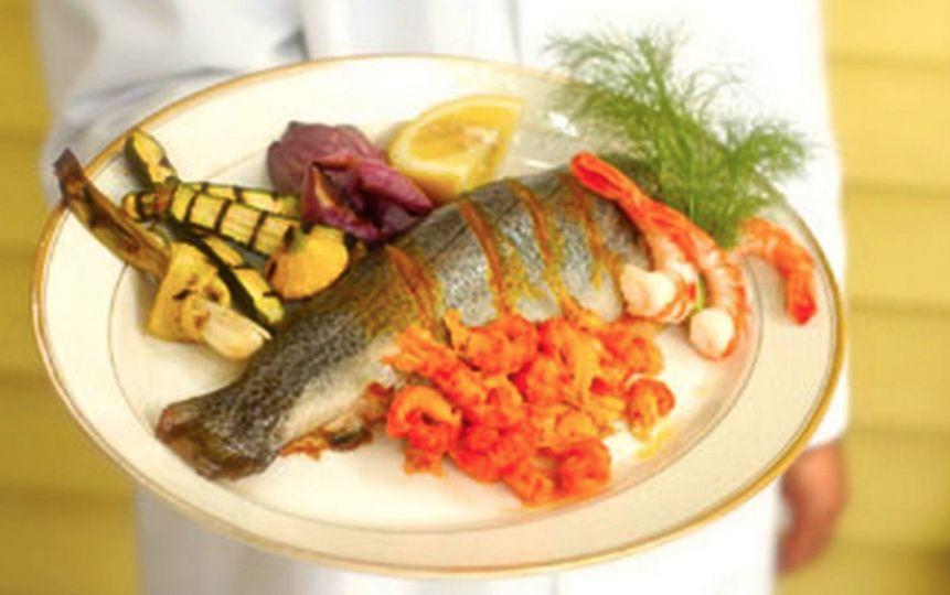 Gourmet fish meal