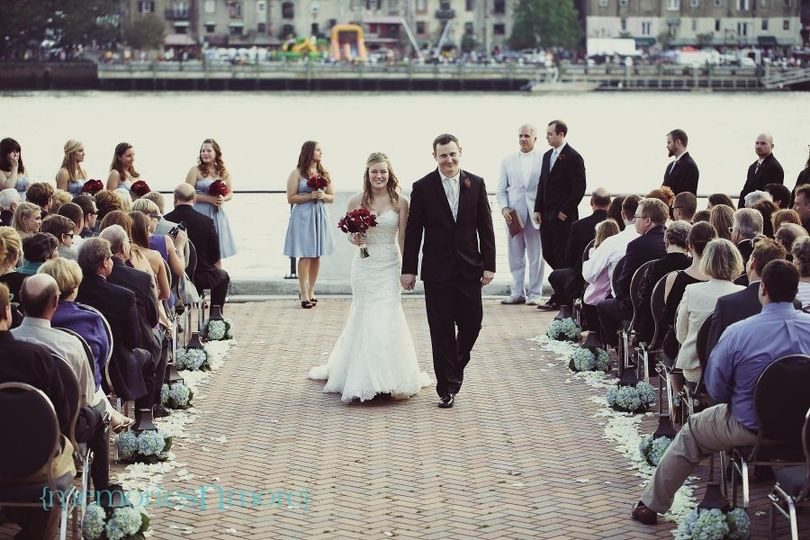 River Front Ceremony