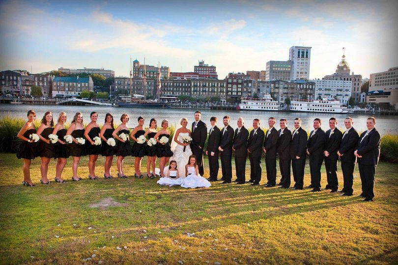 Riverfront Wedding