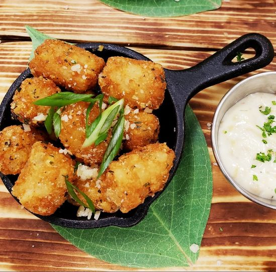 Duck Fat Fried Tots